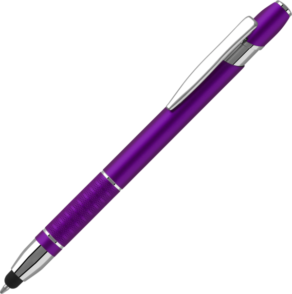 Printed Bella Touch Ballpen - Purple