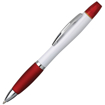 Curvy Highlighter Ballpen - White & Red