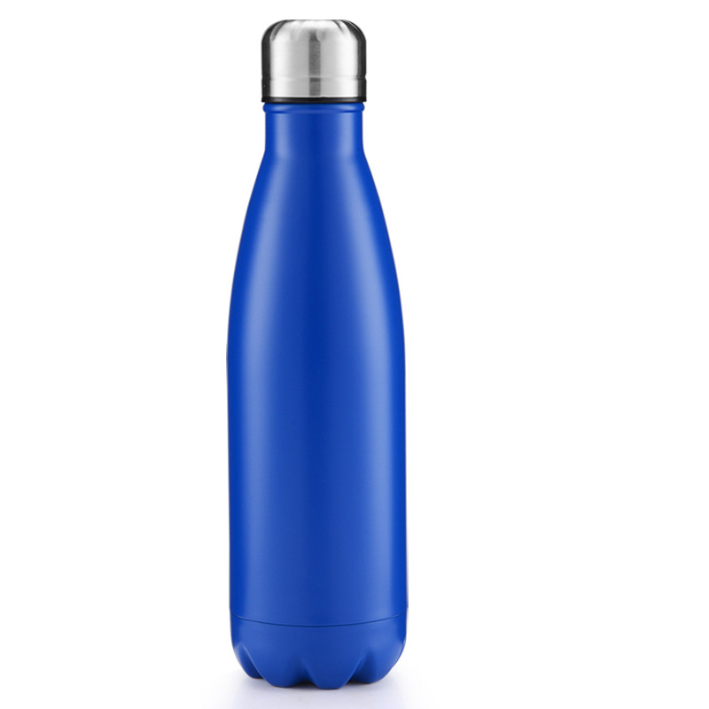 500ml Metal Bottle - Matt Blue