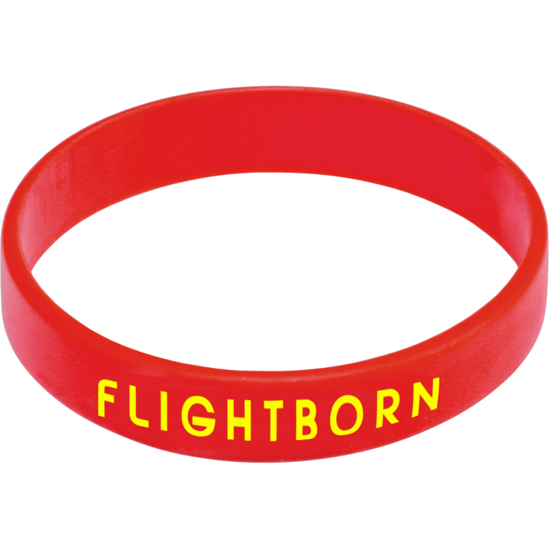 Express Silicone Wristband - Red