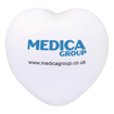 Stress Love Heart - White Branded