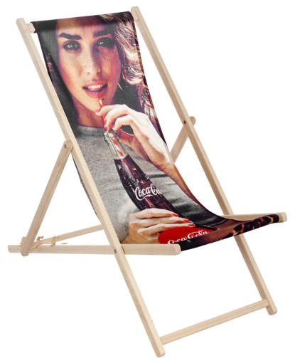 Custom Deck Chair - Photographic Print