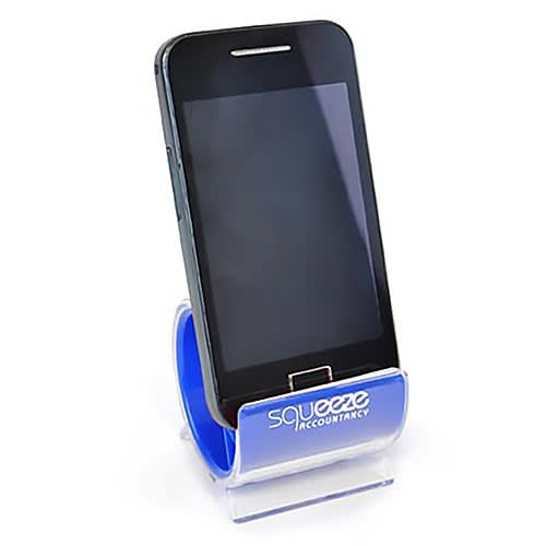 Turbo Smart Phone Stand - Branded Viewed with Mobile