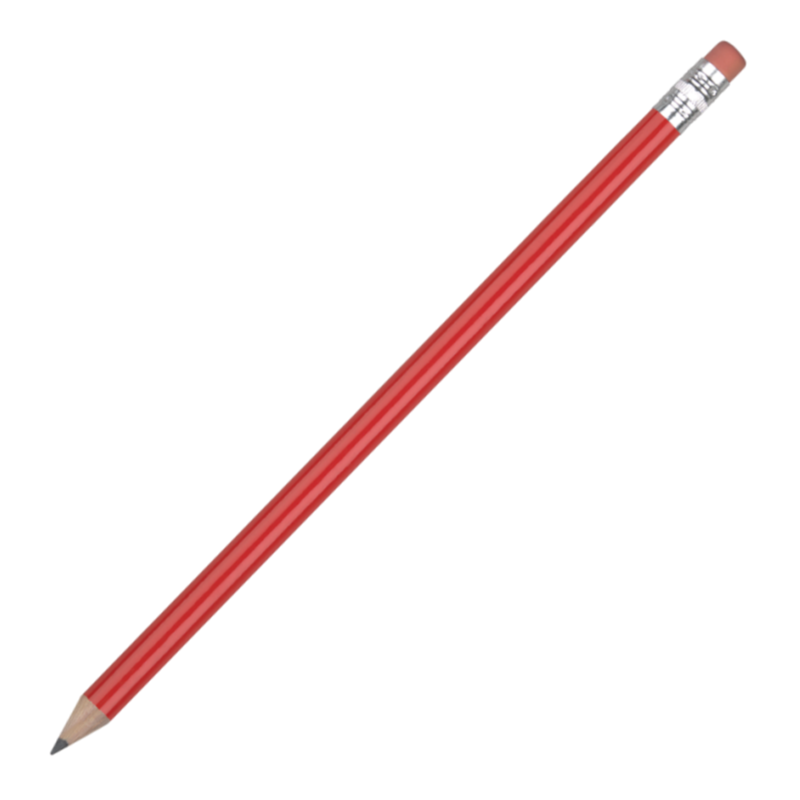 FSC Wooden Pencil - Red