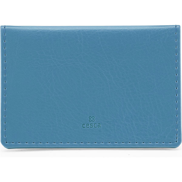 Portrait Belluno Oyster Card Wallet - Sky Blue