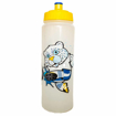 750ml Biodegradable Sports Bottles - Yellow Full Colour Branding