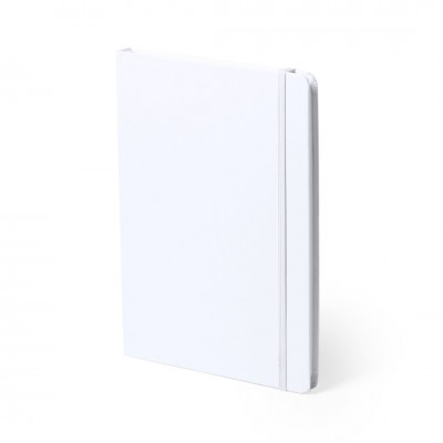 A5 Antibacterial Notebooks - White